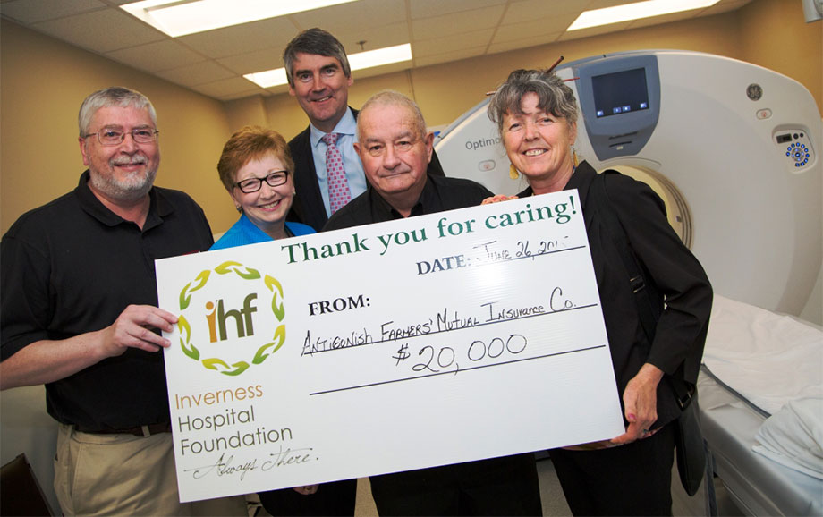 ICMH CT Scanner Donation