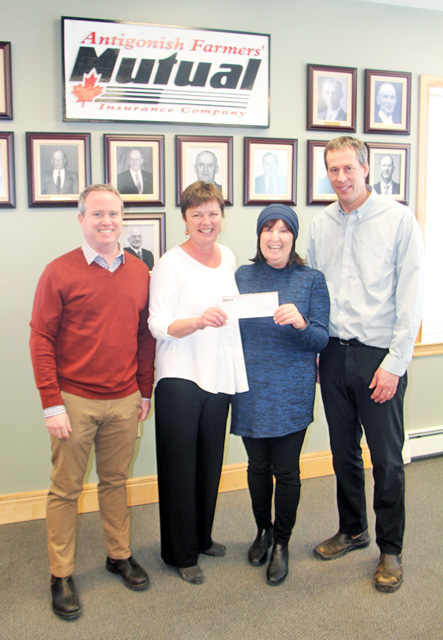 Keppoch funding pledge presentation photo.